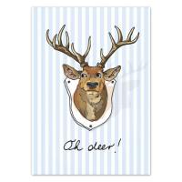 Pocztówka Oh Deer
