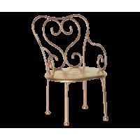 Romantyczne Krzesło Złote Maileg
