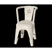 Metalowe Krzesło Białe Maileg