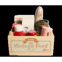 Skrzynka Z Produktami Vintage Food Maileg