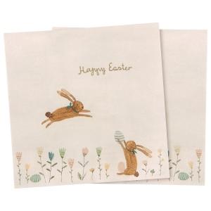 Papierowe Serwetki Happy Easter Field Maileg