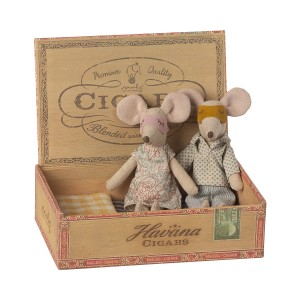 Myszki Mama I Tata W Pudełku NEW Maileg