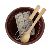 Zestaw Utensils & Mixing Bowl Maileg
