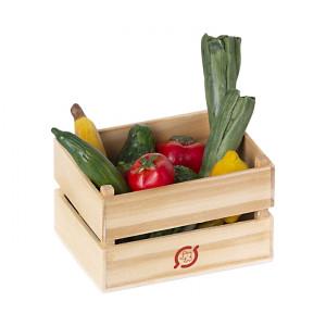 Skrzynka Z Warzywami I Owocami Maileg