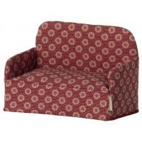 Sofa Red Dla Myszek Maileg