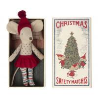 Myszka Christmas Starsza Siostra W Pudełku Maileg