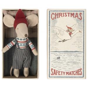 Myszka Christmas Starszy Brat W Pudełku Maileg