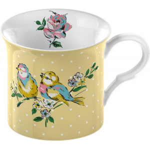 Kubek Bird Song Katie Alice Beżowy