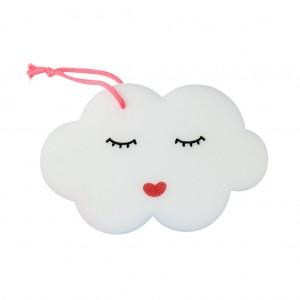 Gąbka Do Mycia Dla Dzieci Cloud White Rice