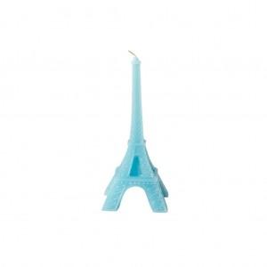 Świeczka Eiffel Tower Blue Rice