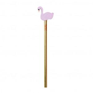 Ołówek Z Gumką W Kształcie Łabędzia Pink Rice