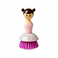 Szczotka Do Zmywania Doll Shape Pink Rice