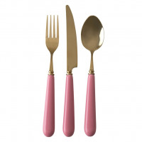 Sztućce Pink 3 SZT. Rice