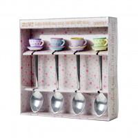 Łyżeczki 4 SZT Tea Cup Rice