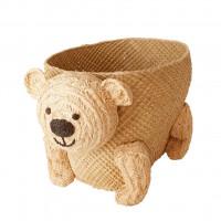 Koszyk Bear Raffia Rice