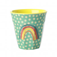 Kubek Z Melaminy RAINBOW AND STARS PRINT Rice